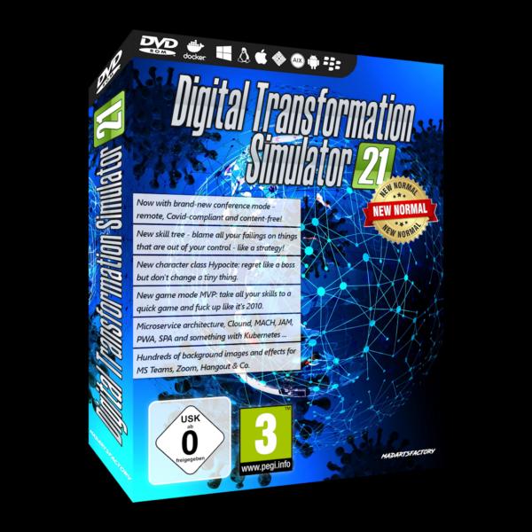 Digital Transformation Simulator 2021 - New Normal Edition
